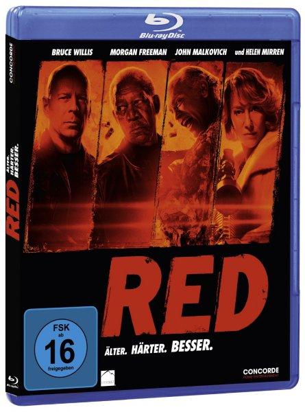 RED - Älter. Härter. Besser [Blu-ray] als Amazon Herbstschnäppchen