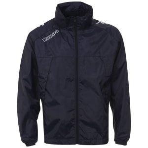 (UK) Kappa Men's Picojack Rain Jacket - Navy/White für 14,65€ @ Zavvi