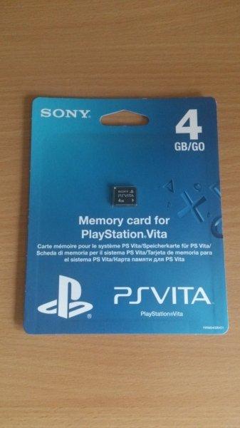 PS Vita 4 GB Speicherkarte