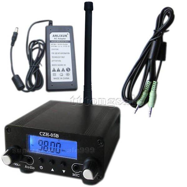 DIY Piratenradio -  100mW/ 500mW (Power adj.) 76-108Mhz Home FM TRANSMITTER