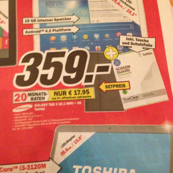 [lokal Media Markt Bremen waterfront] Samsung Galaxy Tab 3 10.1