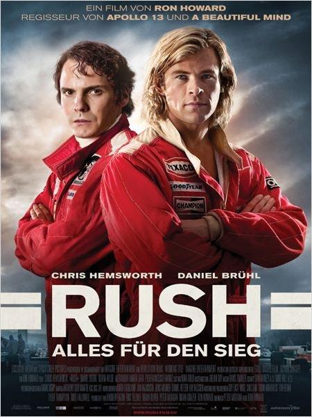 Günstig ins Kino (jeder 3. Anruf gewinnt): RUSH – Alles für den Sieg (10 Städte)