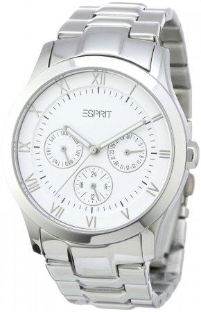 ESPRIT Damenuhr in Silber, Armbanduhr, Analog Quarz, 44,80 @ eltronics