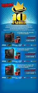 Caseking PC System bis zu 500 € Rabatt + The Bureau Game Gratis