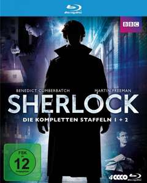 Sherlock Box mit Staffel 1&2 [Blu-ray] für 26,99 €