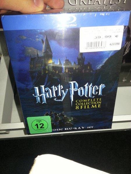 [lokal Heidekreis, NDS?] Harry Potter 8 Disk Bluray Complete Collection 39,99€ @ Expert