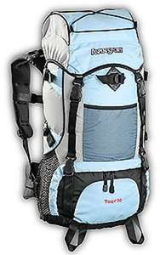 Black Canyon Trekkingrucksack Aspensport Tour, blau, 50 Liter o. Vsk für 34,99 € @ Amazon.de