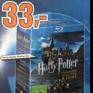 [Lokal Hürth] Harry Potter Box Blu-ray 33 €