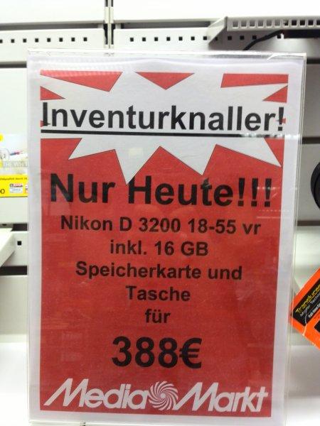 [Lokal] Nikon 3200