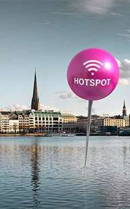 GRATIS: Täglich eine Stunde kostenloses WLAN an Telekom-HotSpots in Hamburg