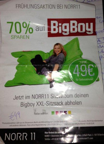 bigboy Sitzsack [lokal berlin]