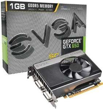 EVGA Grafikkarte Geforce GTX 650 SuperClocked  für 79,85€ @ ZackZack