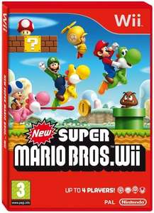 (UK) New Super Mario Brothers (Wii) für ca. 30.83€ @ Amazon