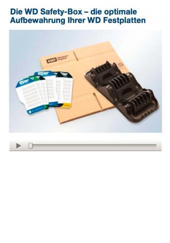 Western Digital Safety Box - Festplattenaufbewahrung