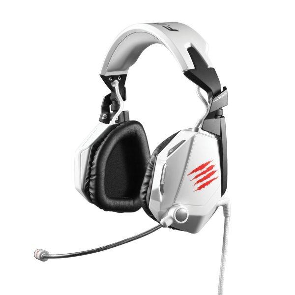 Mad Catz F.R.E.Q.7 Dolby 7.1 Gaming-Headset  Weiß für 164,45€ @Amazon.es