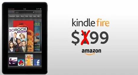 Amazon UK: Kindle Fire Tablet für umgerechnet 118€ statt 160€ beim deutschen Amazon