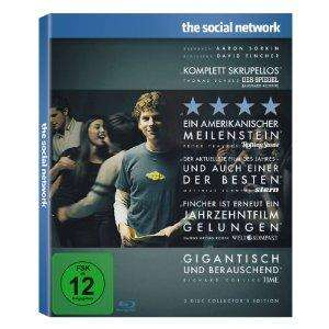 The Social Network (2-Disc Collector's Edition) [Blu-ray] für 9,99€