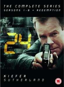 24 - Season 1-8 and Redemption  -49 DVDs 57,22 @zavvi **ACHTUNG ACHTUNG NUR ENGLISCHE TONSPUR**