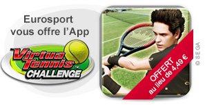 [iOS] Virtua Tennis Challenge kostenlos Normalpreis 4,49€