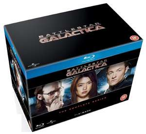 Battlestar Galactica: Complete Series (Blu-Ray)  ~39,70 incl. Versand (Amazon UK)