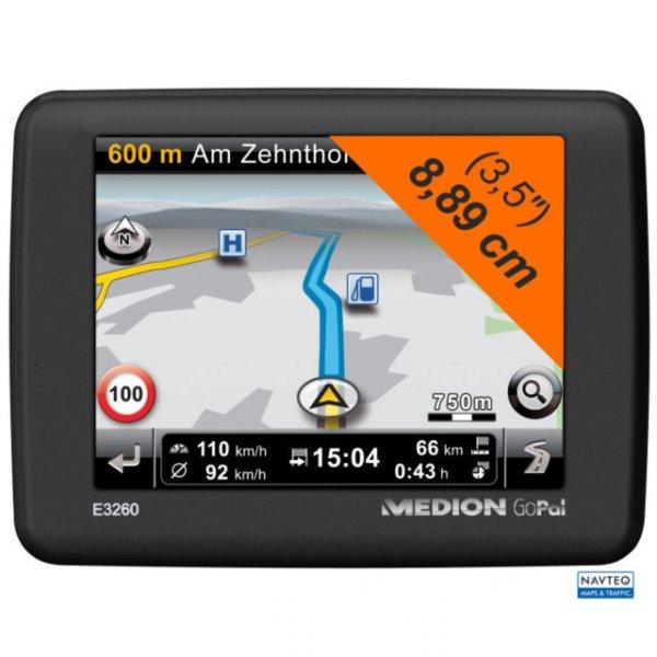 Navi Medion GoPal E3260 WEU für nur 49,99 EUR inkl. Versand [B-Ware/12 Monate Gewähr]