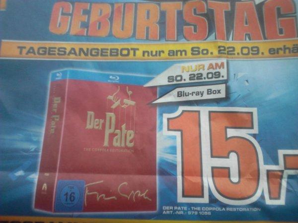 Der Pate 1-3 Blu-ray Box 15€ Lokal Berlin Saturn Nur So 22.09.