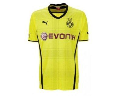 Aktuelles PUMA Herren Trikot BVB Home Shirt Replica mit Sponsor Logo Gr. L ab 41,80€ (andere Gr. ab 47,87€)