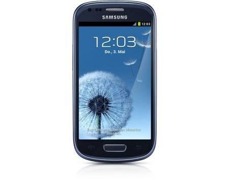 "Samsung™ - Galaxy S3 Mini Smartphone (4"" 800x480, 8GB, 5MP LED/AF Cam,Android 4.1) in Blau oder Weiß für €189,99 [@MeinPaket.de]"