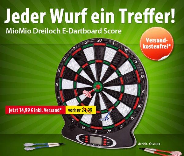 Dreiloch E-Dartboard Score für nur 14,99 Euro inkl. Versand
