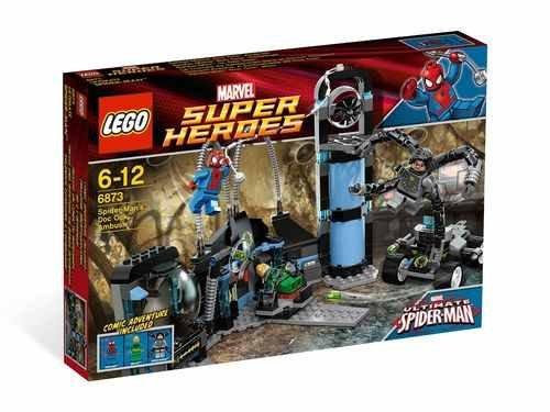 LEGO® Super Heroes 6873 Spider-Mans Dok Ock Hinterhalt für 29,99€ @Karstadt