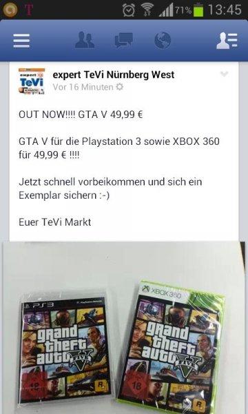 GTA 5 PS 3 oder XBOX 360 (lokal Nürnberg)