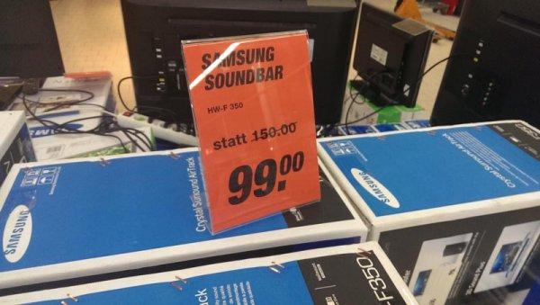 [Lokal Toom Darmstadt] Samsung WF-F 350 Soundbar (u.a.)
