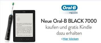 Gratis Kindle beim Kauf einer Oral-B Black 7000