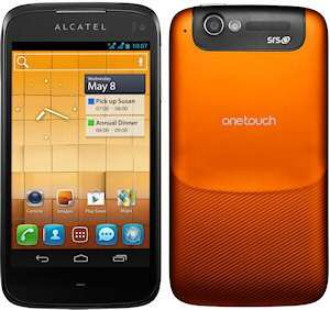 Alcatel One Touch ULTRA 997D Orange [DUAL-SIM, Android 4.0, 8MP Kamera]