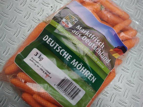 [Lokal] lecker Möhren 3 kg für 0,99 € @ Kaufland Dresden
