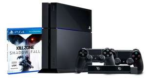 Playstation 4 Konsole (500GB) + Killzone: Shadow Fall + Controller + Kamera