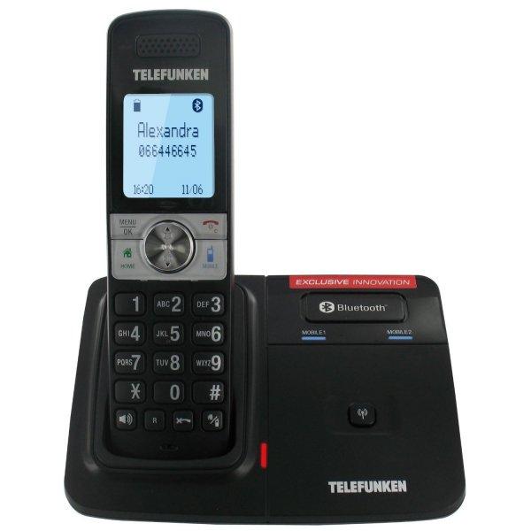 Telefunken TX 101 - Bluetooth / DECT Telefon (14,90€, 50% unter Idealo-Vergleichspreis)