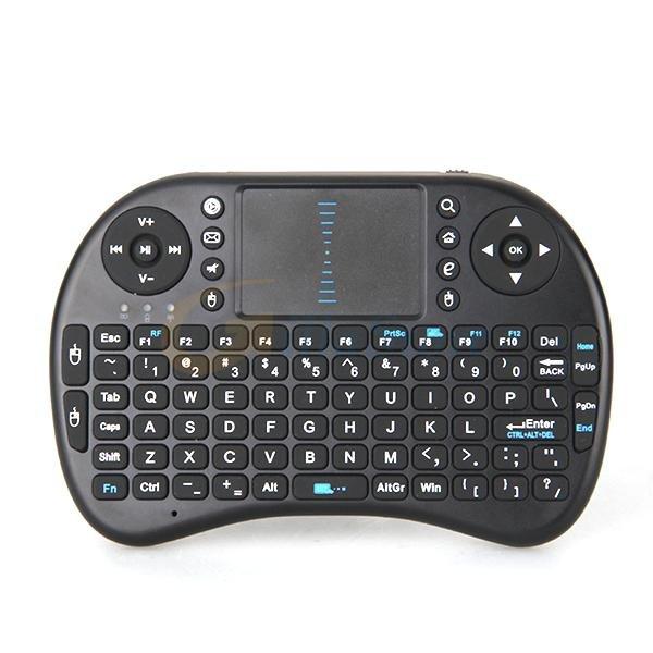 2.4GHz USB Wireless QWERTY Mini Tastatur Touchpad Android TV Box Xbox 360 PS3