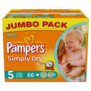 PAMPERS Simply Dry Gr. 5
