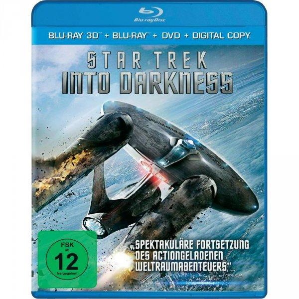 3D Blu-ray Star Trek - Into Darkness - Superset (+ 2D Blu-ray + DVD) für 19,95 bei conrad