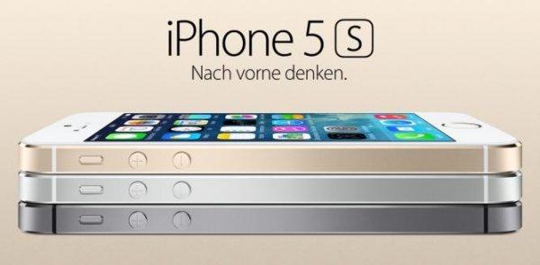 iPhone 5S 16GB weiß,schwarz,gold für 679 durch GS + Qipu eff. beste Preis zur Zeit