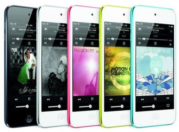 Apple iPod touch 5G 64GB mit Retina-Display in gelb oder pink für 284 Euro inkl. Versand