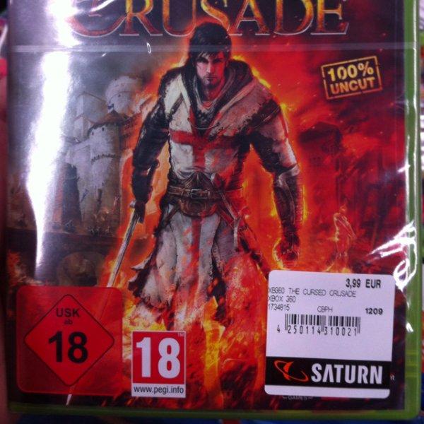 (Lokal?) The cursed crusade xBox 360
