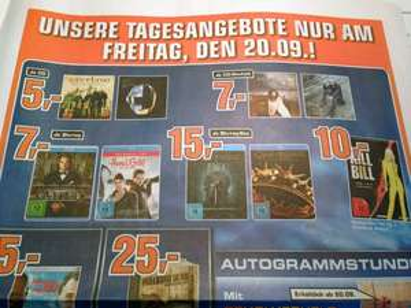 (Lokal Saturn Hamburg) Game of Thrones Staffel 1 und 2 Blu-ray-Box, je 15 Euro am 20.09.2013