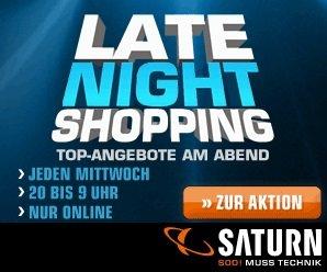 Saturn Late Night Shopping 18.09.2013 Sammelthread