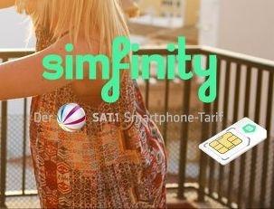Simfinity AllNet HandyFlat jetzt 139,90€ sparen!, durch gratis SMS-Flat + keine Anschlussgebühr