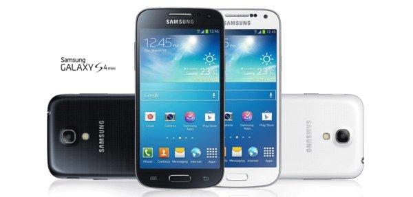 Samsung Galaxy S4 Mini GT-I9195 EU-Modell schwarz/weiß - 48€ unter Idealo