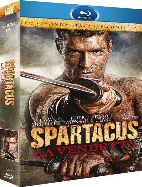 [Amazon.it] Spartacus: Vengeance - Die komplette Season 2 Blu-ray Uncut