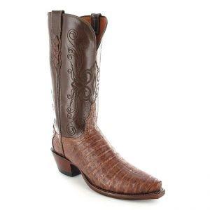 300,- € sparen bei einem echten Caiman-Lederstiefel im Western-Look für Damen