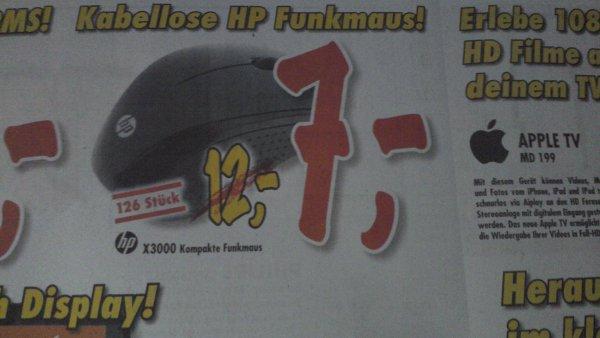 [Esslingen|Technoland] Funkmaus HP X3000